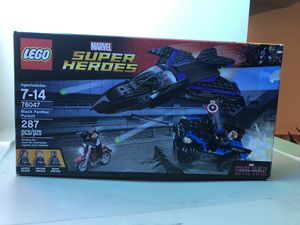 LEGO Marvel Captain America Black Panther Pursuit Complete Set with Box for Sale in Lockport, IL