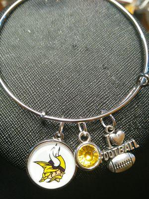 Minnesota Vikings charm bracelet for Sale in Nashville, TN