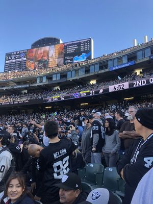Last home game! Raiders vs Jags for Sale in San Jose, CA