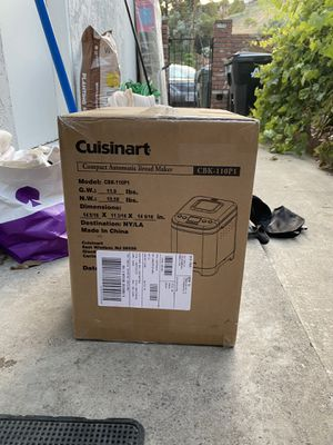 cusinart break maker for Sale in Rosemead, CA