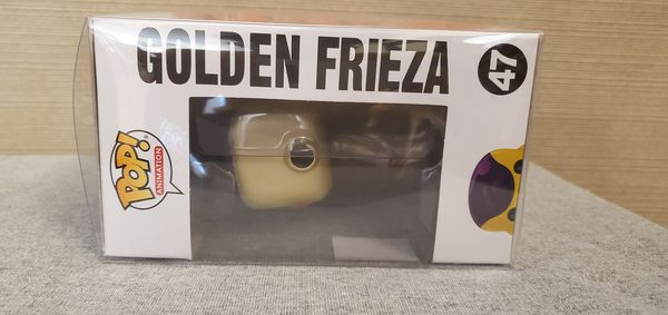 Golden Frieza Funko Pop! - Comes with Protector