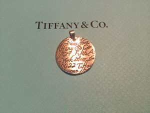 Tiffany and Co Retired Charm 100% Solid Sterling Silver Asking $145.00 or Best Offer or Possible Trade for Sale in Clovis, CA