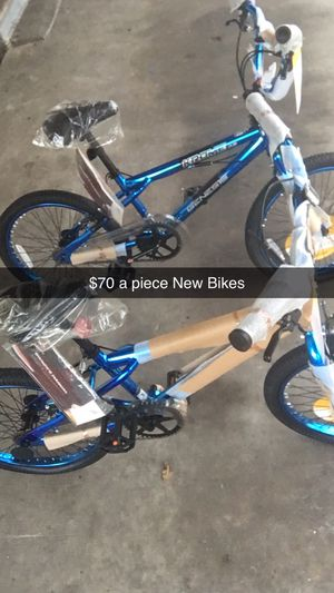 Brand New Bikes $ 60 A piece Just put them together for Sale in Baton Rouge, LA