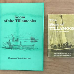 Margaret W. Edwards (Autographed) Koom of the Tillamooks, & The Story of Tillamook by Dean Collins for Sale in Hillsboro, OR