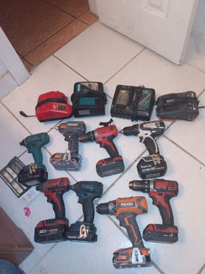 Up for grabs drill charger battery for Sale in Ocean Ridge, FL