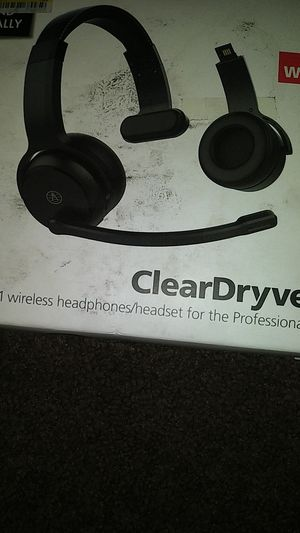 Clear Dryve 50 headphones/ headset for Sale in Tucson, AZ