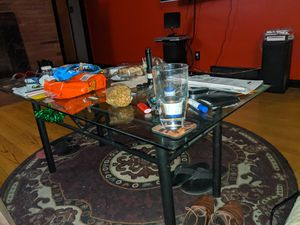 Glass coffee table for Sale in Portland, OR