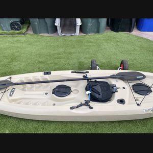 Lifetime Tamarack Kayak Angler Bundle for Sale in El Cajon, CA