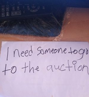 I need someone to go to the auction for Sale in New Britain, CT