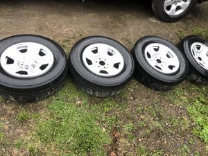 Tires & rims 275/65/18 for Sale in Presque Isle, ME