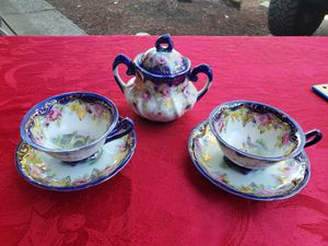 Vintage Tea Cup & Saucer with Sugar Cup for Sale in Portland, OR