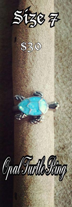 Opal Turtle Ring for Sale in Waycross, GA