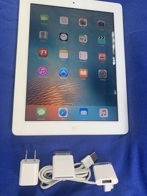Apple iPad 2 Gen.MC981LL/A,64GB,Wi-Fi, 9.7in -White,version 9.3.5 for Sale in Miami, FL