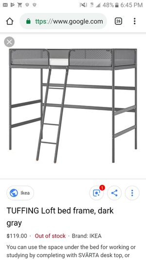 Tuffing Loft Bed for Sale in Tampa, FL