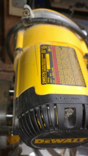 Dewalt compound miter saw with dust collection cyclone. for Sale in Stockton, CA