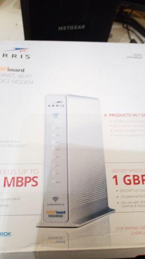 ARRIS Surfboard Internet WiFi & voice Modem. for Sale in Portland, OR