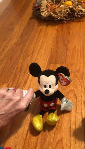 Mickey Mouse Ty Beanie Baby for Sale in Cowpens, SC