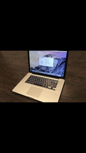 2015 Apple MacBook Pro (no touchbar) for Sale in Rexburg, ID