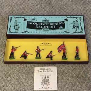 NEW🎄W Britain 'The Gloucestershire Regiment' Toy Soldiers Collector's Ed 8809🎁 for Sale in Glendale Heights, IL