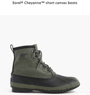 Sorel® Cheyanne™ short canvas boots sz 10 for Sale in Fairview, NJ
