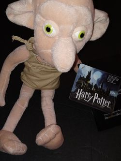 """Harry Potter The Noble Collection Dobby Plush 12"""" Poseable New With Tags for Sale in Miami,  FL"""