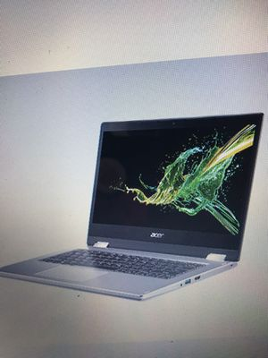 "Acer Spin 3 SP314-53N-53SH 14"" Notebook, Intel i5, 8GB Memory, 256GB SSD, Windows 10, Silver (NX.HDBAA.002 for Sale in South Brunswick Township, NJ"