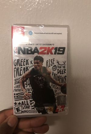 NBA 2K19 Nintendo Switch for Sale in The Bronx, NY