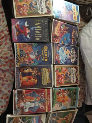 Disney masterpiece VHS movies for Sale in Lynwood, CA