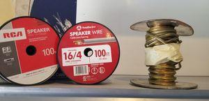 Set of 3 speaker wire for Sale in Savannah, GA