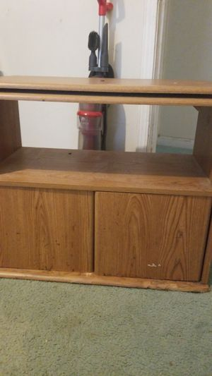 Wooden TV stand for Sale in Lilburn, GA