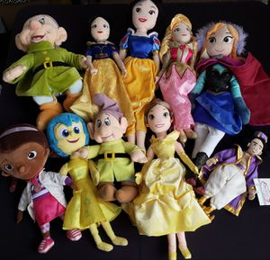 Disney Plush Dolls and more Lot for Sale in Hyattsville, MD