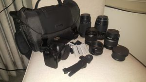 Canon EOS Rebel XS, lenses and accessories for Sale in Seattle, WA