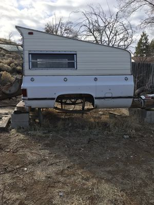 Chevy truck bed and camper for Sale in Spanish Springs, NV