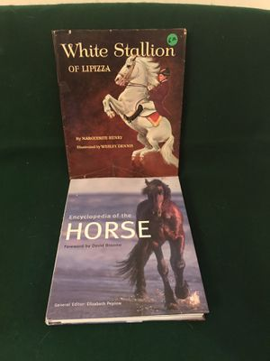 HORSE Books - Ency. Of the Horse, White Stallion of Lipizza. for Sale in Santa Ana, CA