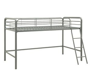 Used Twin size loft bed frame only for Sale in Bakersfield, CA