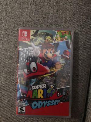 Super Mario Odyssey Nintendo Switch Brand New for Sale in Clovis, CA