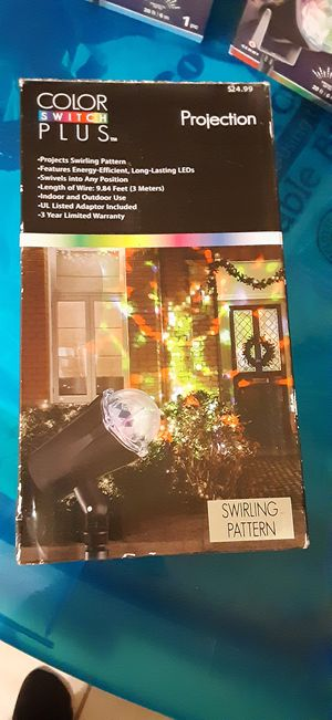 NEW CHRISTMAS PROJECTOR LIGHT for Sale in Fresno, CA