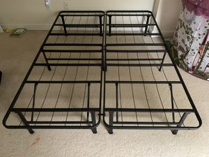 $30 Full size bed frame like new for Sale in Falls Church, VA