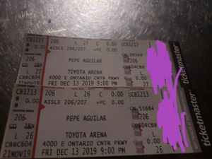 ***PEPE AGUILAR **** for Sale in Burbank, CA