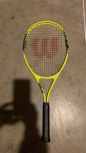 Wilson matrix tennis racket for Sale in Imperial, MO