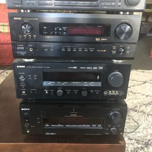 Rock The Holidays ! Yamaha Denon Sony ES for Sale in Carlsbad, CA