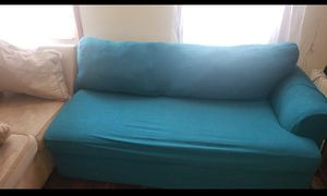 SECTIONAL COUCH WITH COVER for Sale in Brooklyn, NY