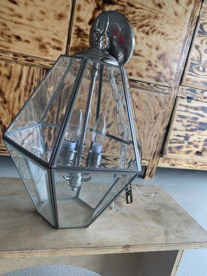 Clear glass chandelier for Sale in Baytown, TX