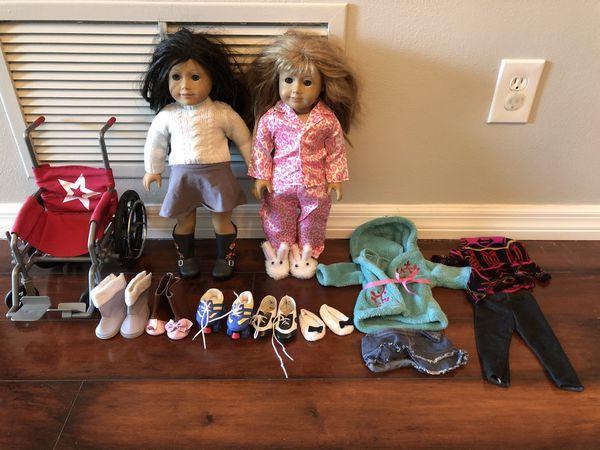 2 American Girl Dolls