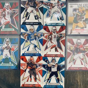 Panini rookies And Stars Football Card Lot 2020 for Sale in Vista, CA