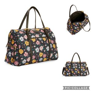 Brand New!No Boundaries Black Floral Weekender Bag for Sale in Westminster, CA