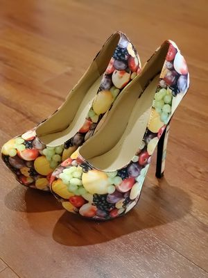Liliana 'fruit design' high heel pumps for Sale in Oakland Park, FL