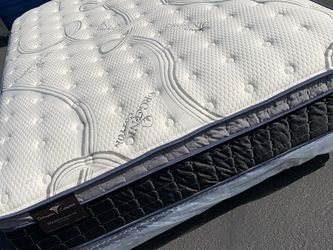 New King Size Imperial Plush Pillow Top Mattress! for Sale in Rancho Cucamonga,  CA