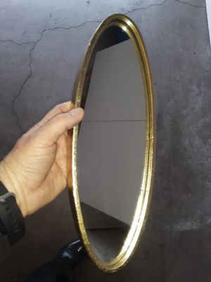 Gold colored metal decorative mirror for Sale in Artesia, CA