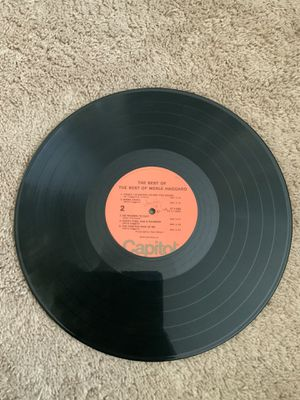 The Best Of Merle Haggard Vinyl Record for Sale in Pittsburg, CA
